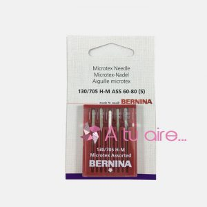 Agujas Bernina Microtex