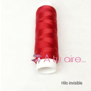 Hilo invisible Rosello rojo