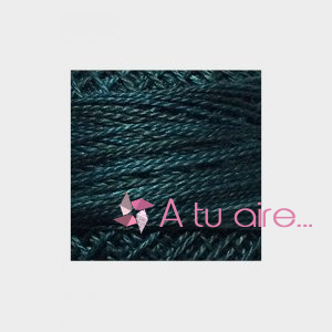 Valdani Perle Cotton nº 12 Blackened Teal H203